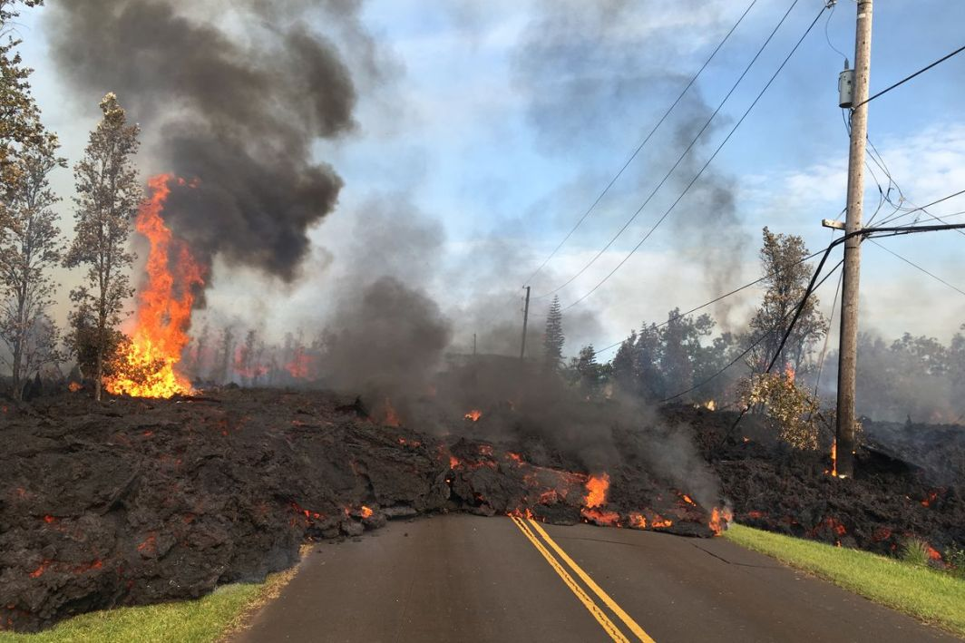 Hawaii's Recent Volcanic Eruption