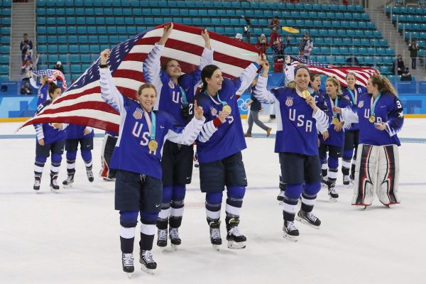 Team USA Wins Olympic Gold in Women's Hockey - Die By The ...