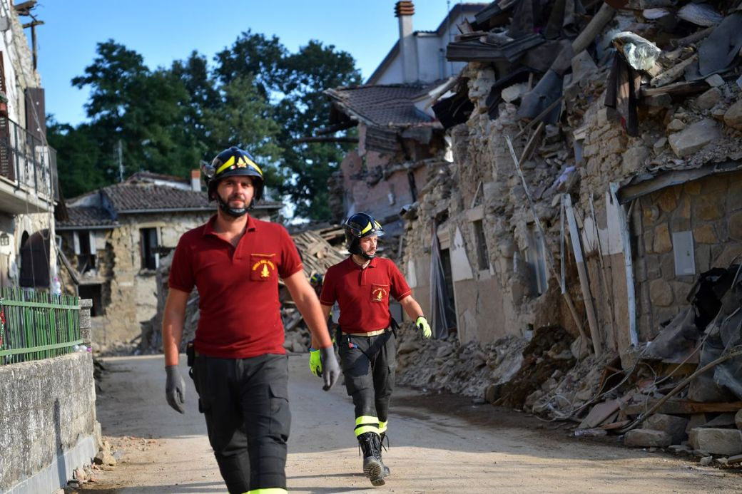 Relief Efforts Continue in Italy After 6.2 Earthquake