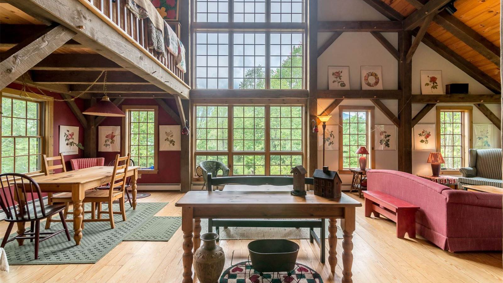 Bright And Airy Cabin In The Vermont Mountains Wants 399K
