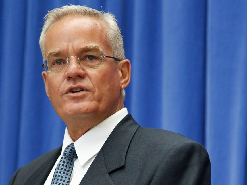 Bill Hybels in 2010, when he was senior pastor of the 12,000-plus member Willow Creek Community Church. He stepped down after sexual misconduct allegations in April 2018.