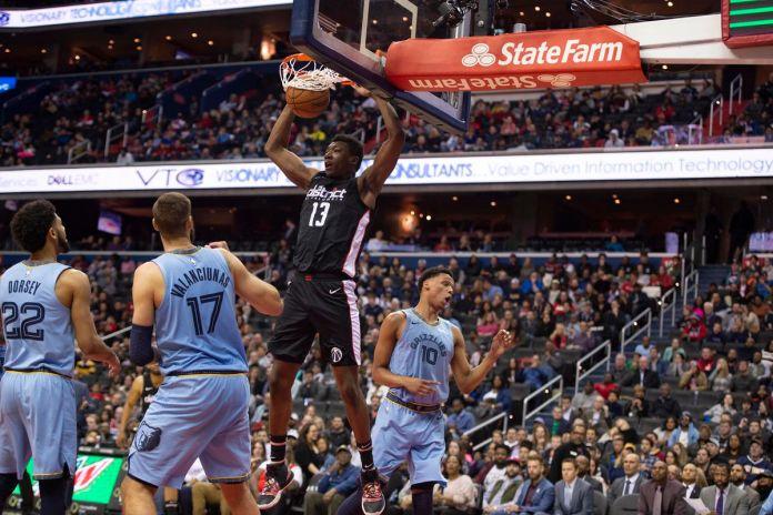 NBA: Memphis Grizzlies at Washington Wizards