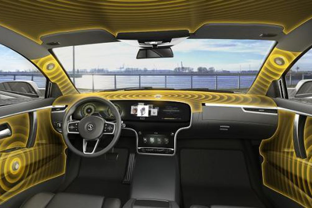 This new audio system turns your car s interior into one giant     Image  Continental