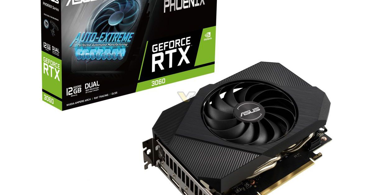 Asus is riding a new wave of compact RTX 3060 cards with this bulky GPU