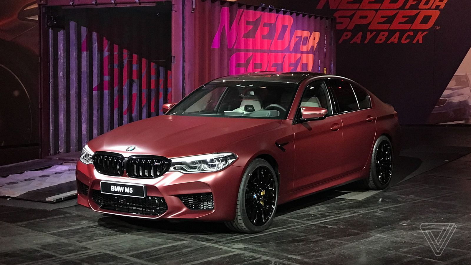 BMW Shows Off The New M5 In Need For Speed Payback The Verge