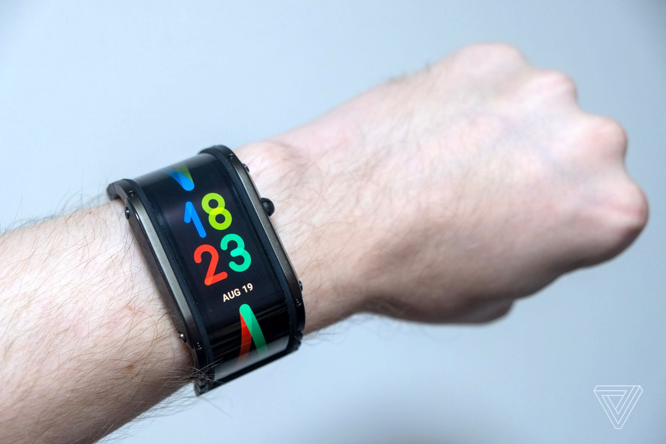The Nubia Watch is a decadent OLED smart bracelet