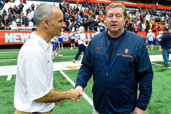 Syracuse Lacrosse: Coach Desko speaks at media day - Troy ...
