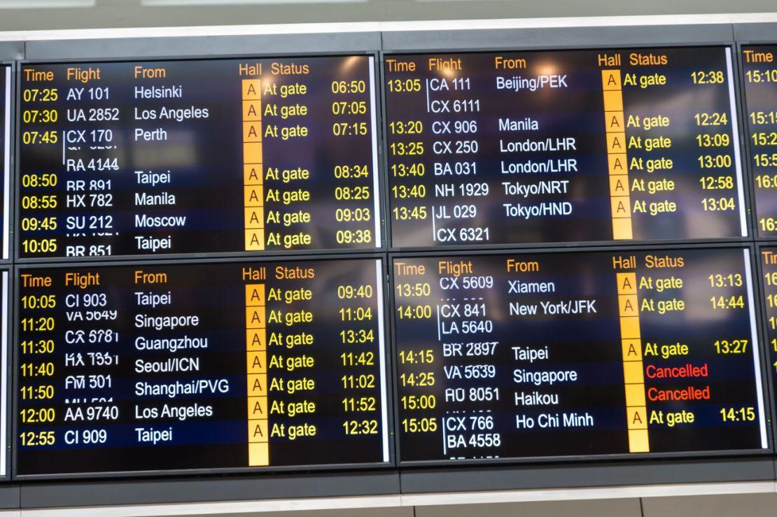 Hong Kong Airport Survives In Minimalist Mode