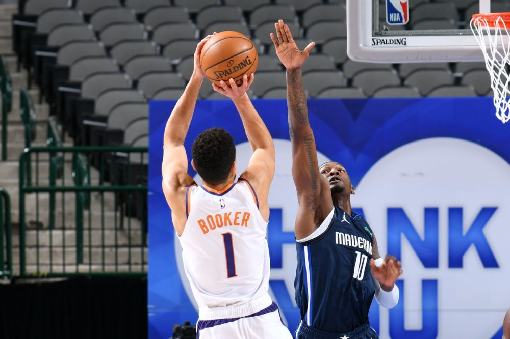 Suns WIN! Booker drains game winner, Suns beat Mavericks 109-108 - Bright  Side Of The Sun