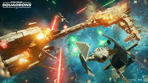 Star Wars: Squadrons preview: chaotic, exhilarating, and ...