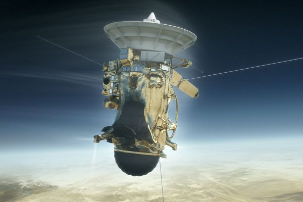 NASA's Cassini spacecraft will meet its fiery end in ...