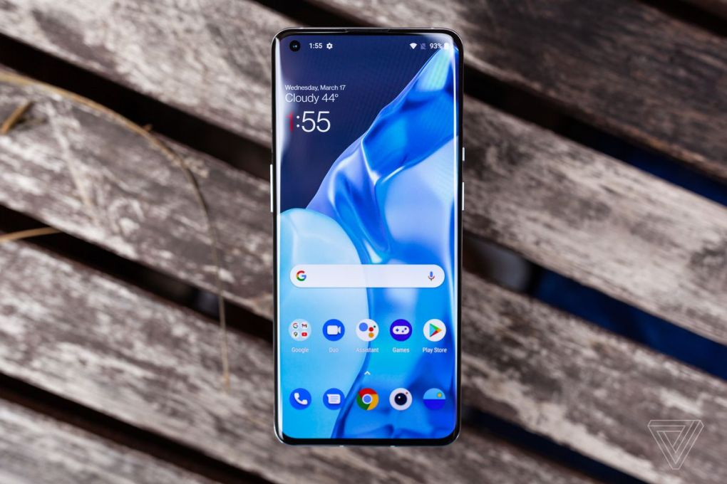 The OnePlus 9 Pro has an elegant design, but won't support 5G on all networks