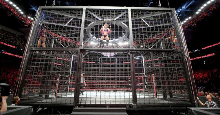 The women's Elimination Chamber match is in trouble