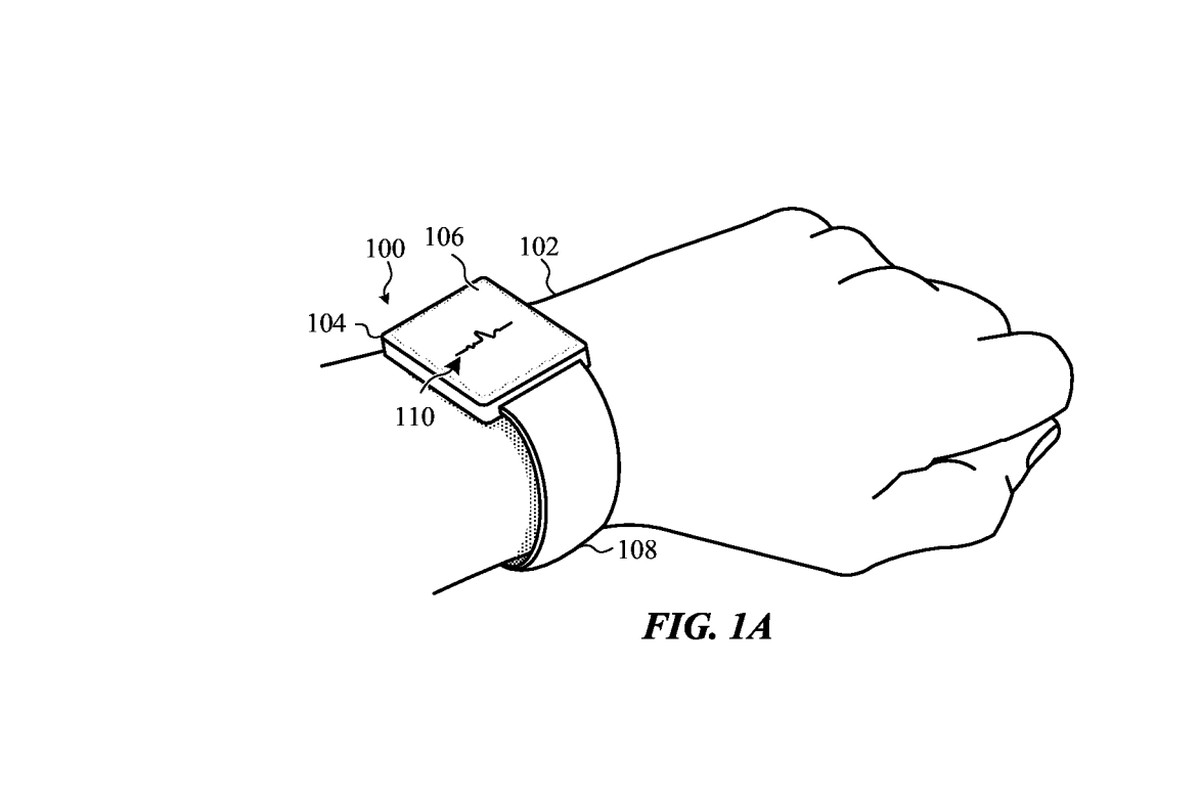 Apple Patents Self Adjusting Apple Watch Bands