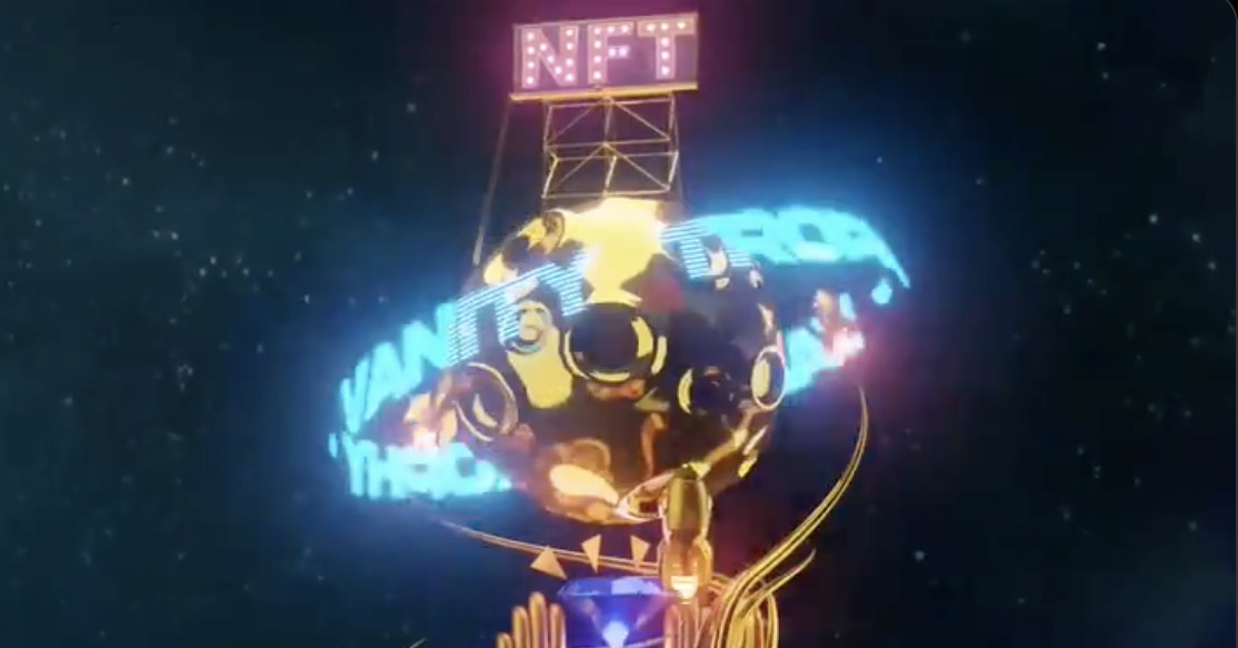 Elon Musk produced a techno track about NFTs he's selling as an NFT
