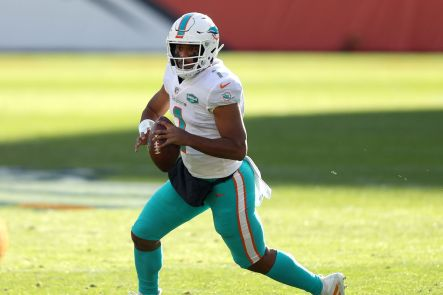 The Patriots will face Tua and the Dolphins in their first game of the 2021 season.