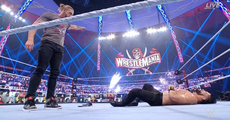 Elimination Chamber used 10 minutes to tell its best story