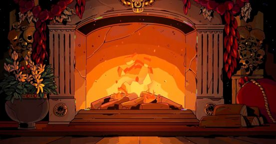Fireplace logs for video games: enjoy the fires inspired by Hades and Pokemon