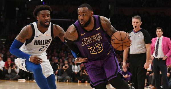 4 things from the Los Angeles Laker drubbing of the Dallas ...