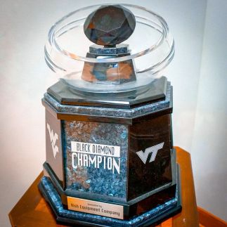 WVU-Virginia Tech rivalry trophy: Meet the Black Diamond - SBNation.com