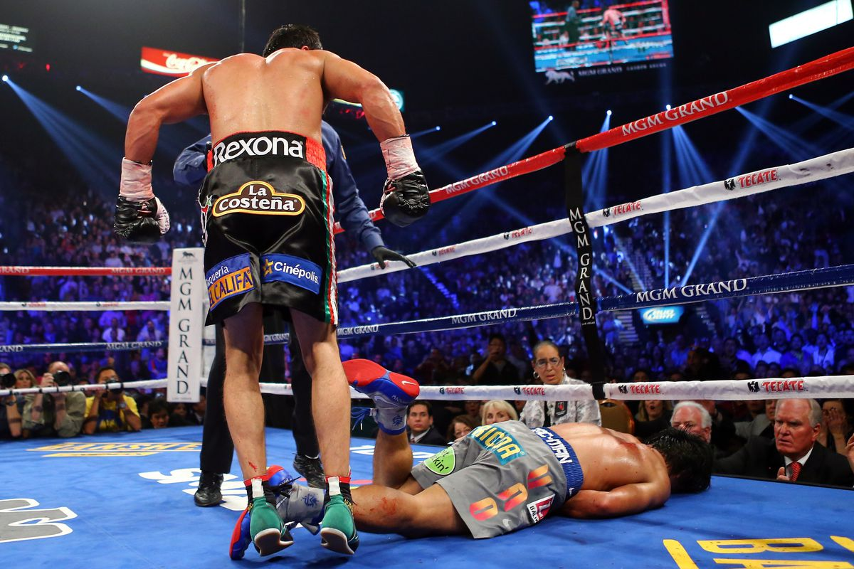 Marquez Out Pacquiao Knock Vs