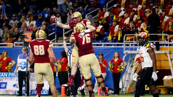 Boston College 36 Maryland 30: Eagles Win First Bowl Game ...