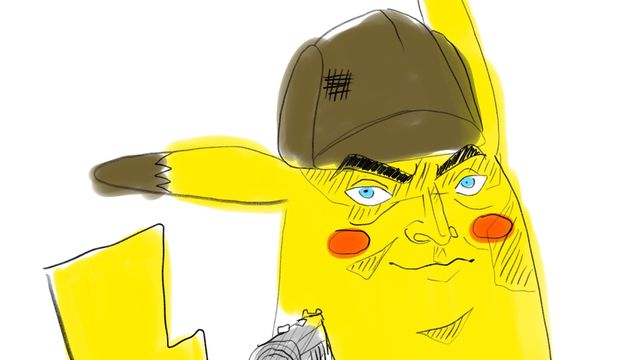 Karen.0 The Polygon staff tries to draw Detective Pikachu from memory | Polygon