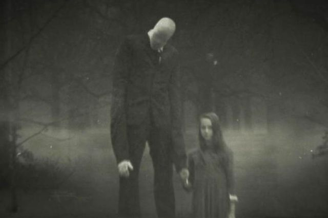 <em>Slender Man fan art.</em>