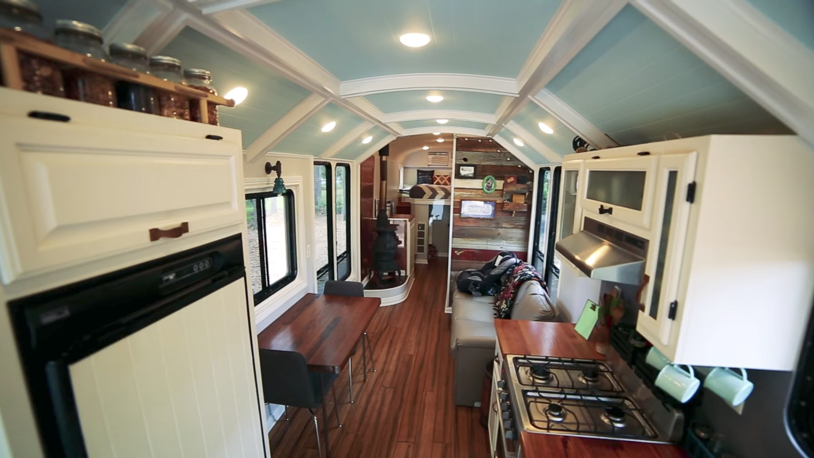 This School Bus Conversion May Be The Most Impressive One