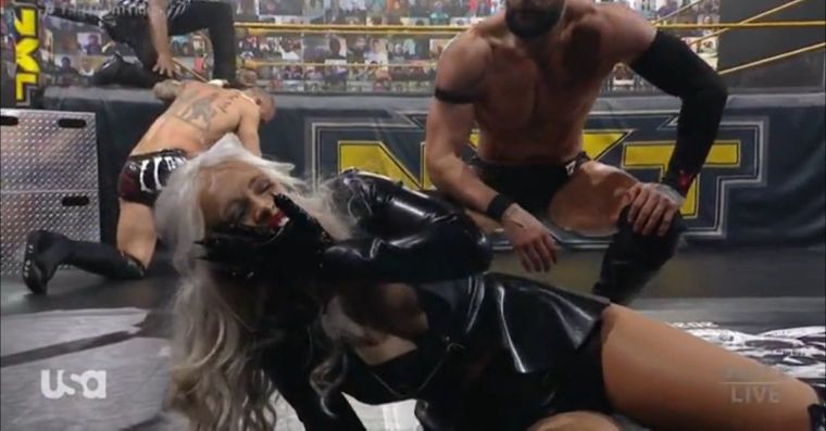 Scarlett gets the last laugh in NXT Tag title main event (Updated)