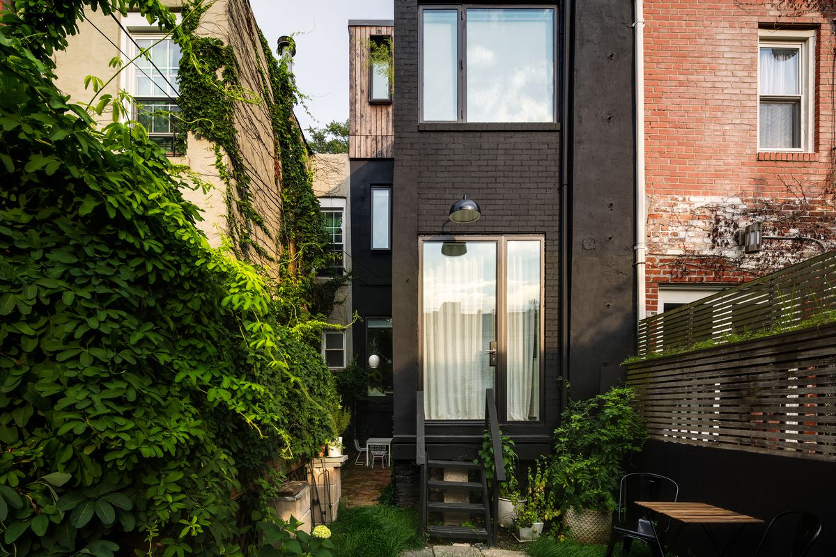 In Brooklyn An Ultra Narrow House Is Transformed Into A