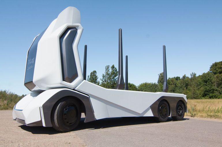 Image result for Autonomous E-Vehicles To Replace Trucks