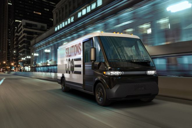 BrightDrop_EV600_image_1.0 GM unveils electric delivery van with 250 miles of range as part of new spinoff business | The Verge