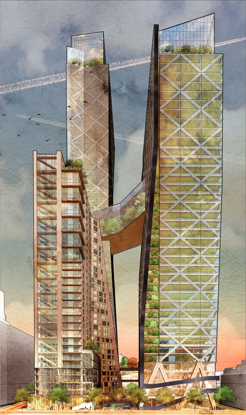 DC Architects Envision Timber Skyscraper For Philly