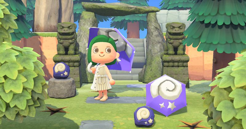 Animal Crossing: New Horizons' next update will let you design a custom umbrella
