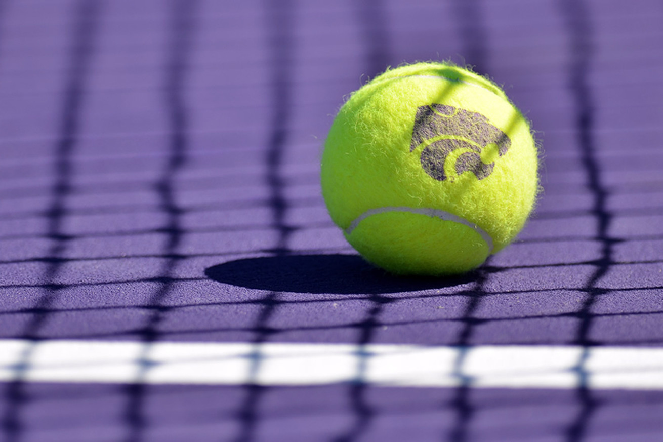 K-State Tennis Coach Danielle Steinberg and player Maria Linares won regional awards for the Spring season. — K-State Athletics/SIDEARM Sports