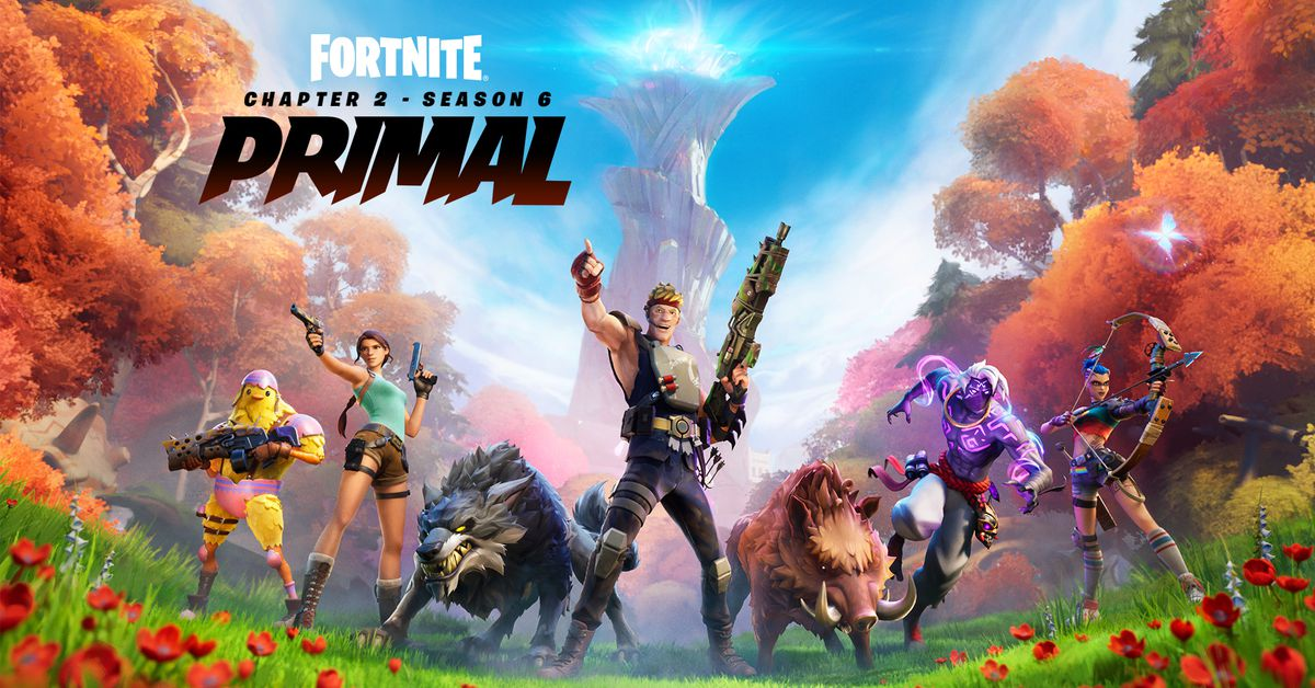 Fortnite season 6 adds animals, crafting, Lara Croft, and Neymar