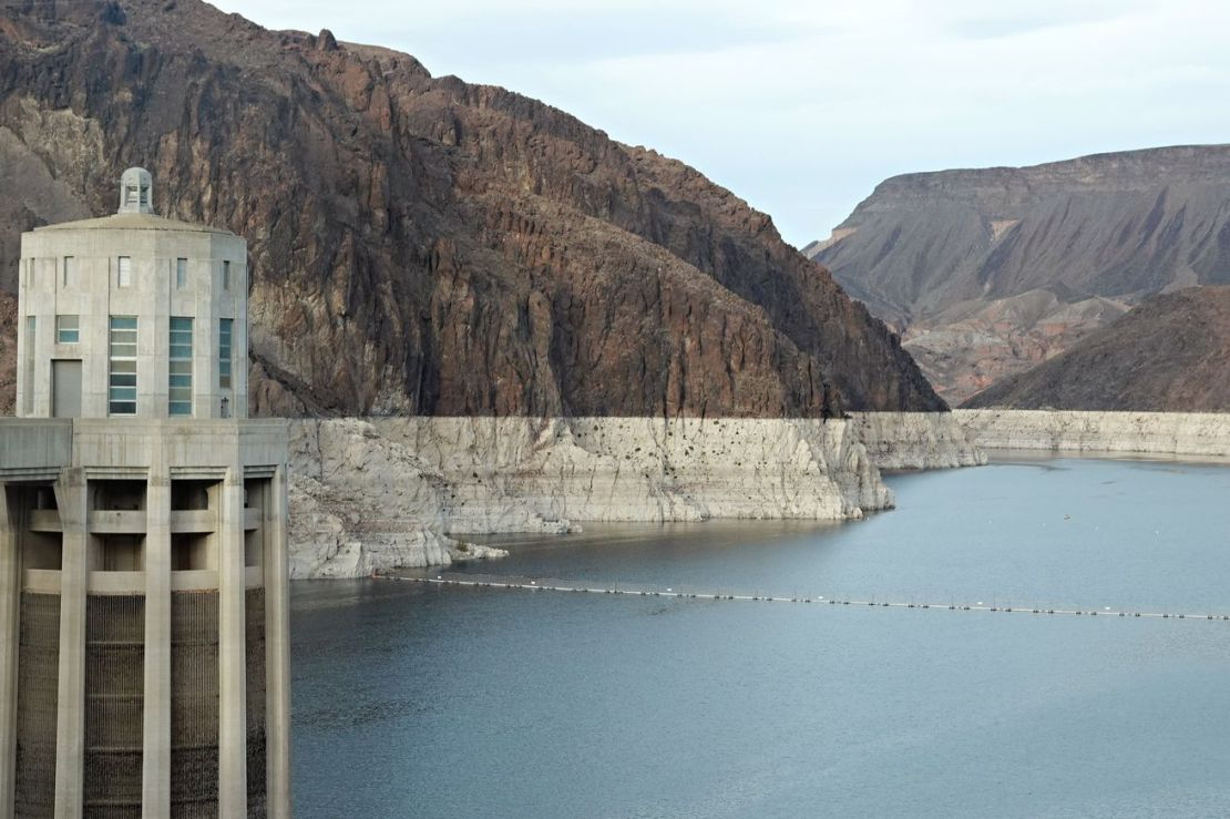 Tourists Visit The Hoover Dam