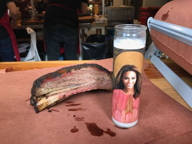 La Barbecue's Beyonce candle