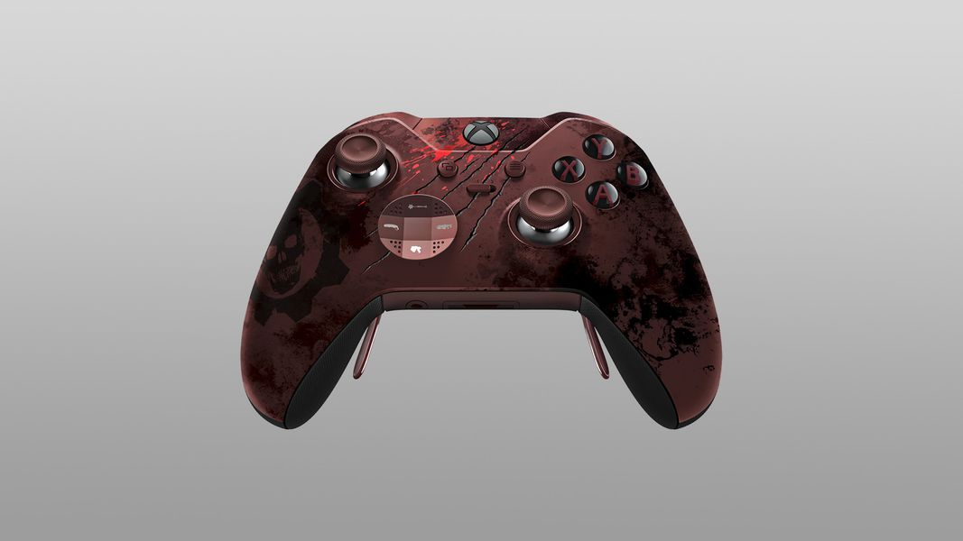 Gears Of War 4s Xbox One Elite Controller Up For Pre