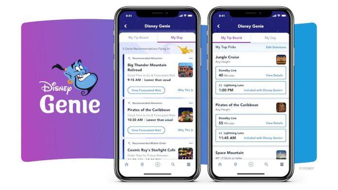 Disney Genie app