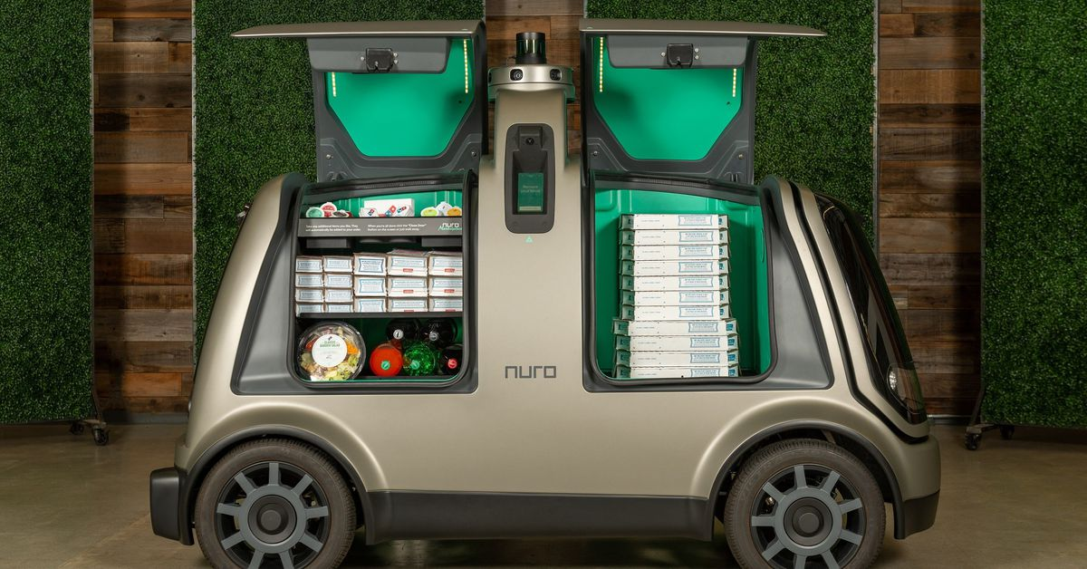 Domino's teams up with Nuro for driverless pizza delivery in Houston