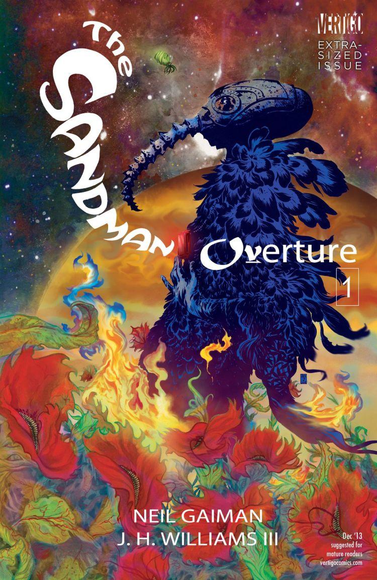 The cover of Sandman: Overture #1, DC Vertigo (2013).