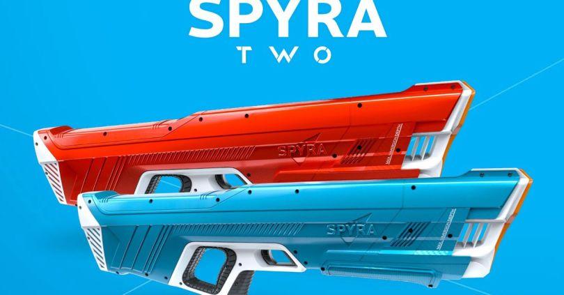 Spyra has a new digital water blaster that looks like it'll blow the original away