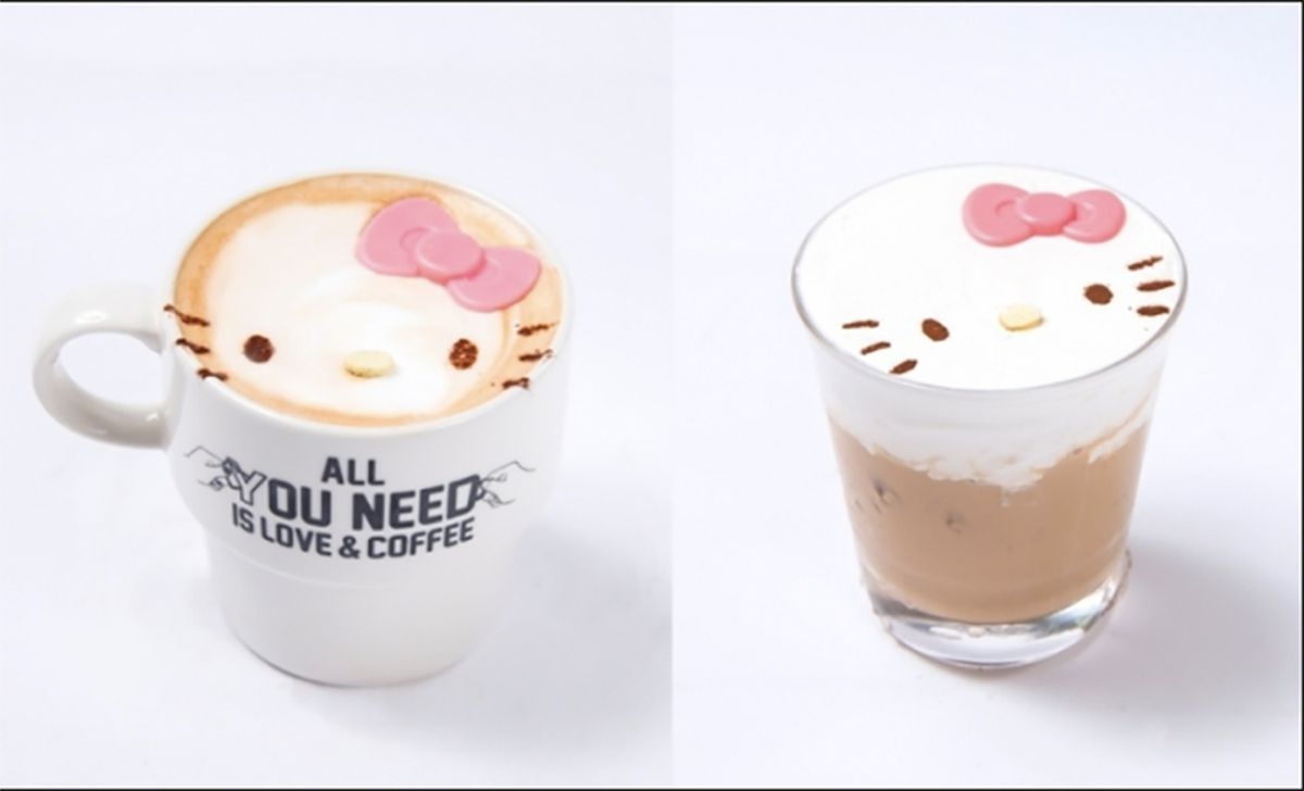 Japanese Pop Up Restaurant Will Only Serve Hello Kitty
