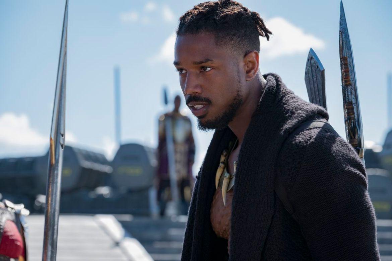 Black Panther - Erik Killmonger staring