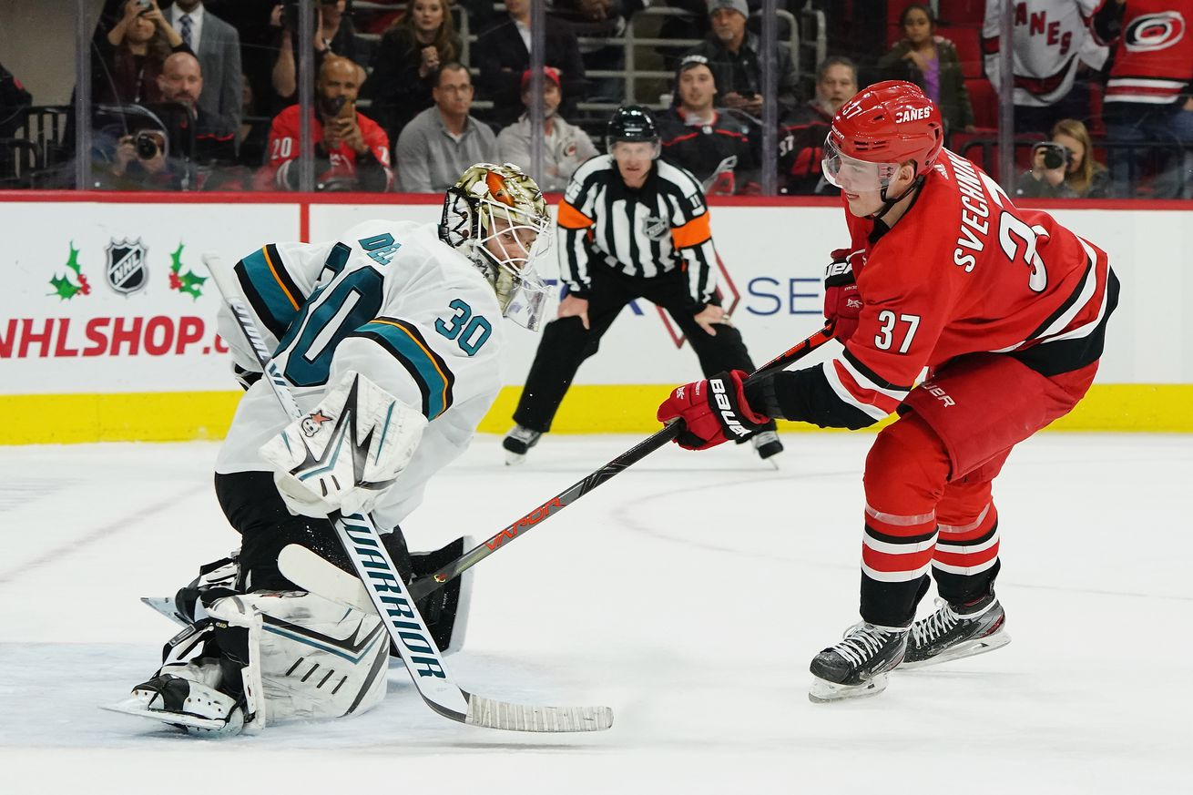 San Jose Sharks v Carolina Hurricanes