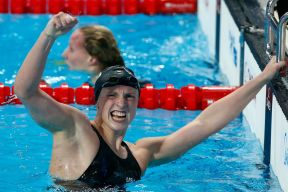 Katie Ledecky is her own biggest competition - SBNation.com