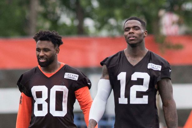 Image result for jarvis landry and josh gordon