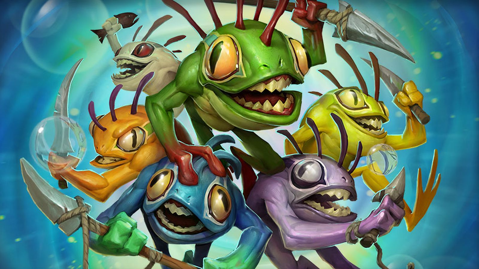 Hearthstones New Hero A Murloc Shaman Is Unlocked By